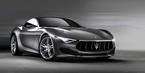 2021 Maserati Alfieri front