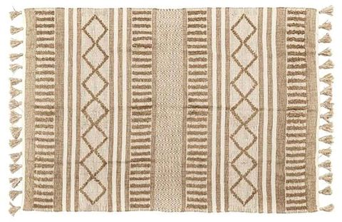 Beige, Pattern, Rectangle, Placemat,