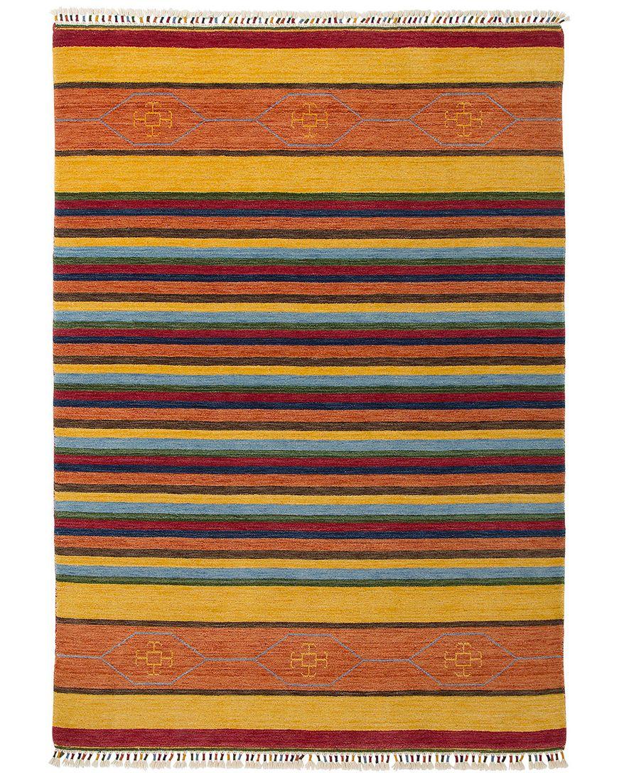 Alfombra de lana de colores