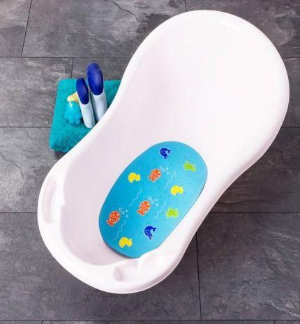 alfombrilla antideslizante bebé bañera