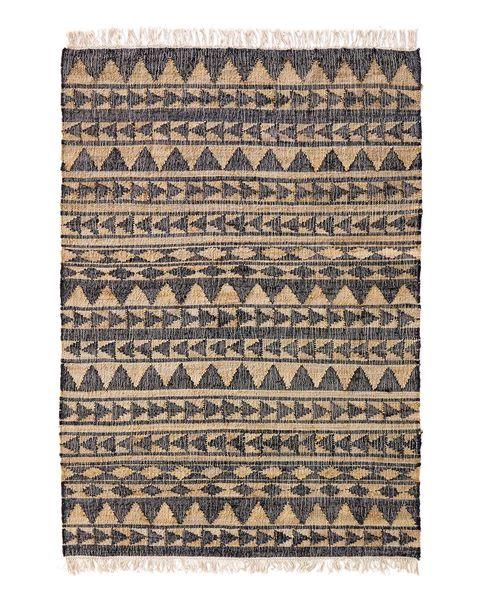 alfombra de yute y algodón mylon