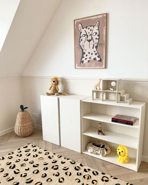 alfombra de leopardo infantil
