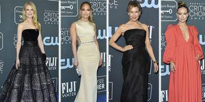 Las mejor y peor vestidas de los Critics Choice Awards