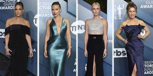 Mejor peor vestidas alfombra roja premios Sindicato Actores 2020