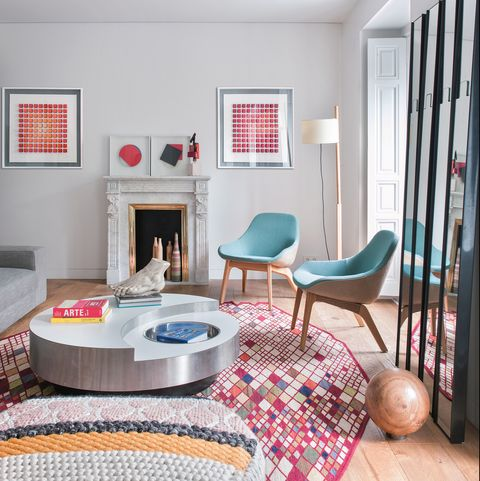 Ideas deco para alfombras irregulares
