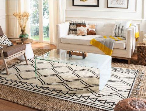 Cuando dos alfombras combinan mejor que una
