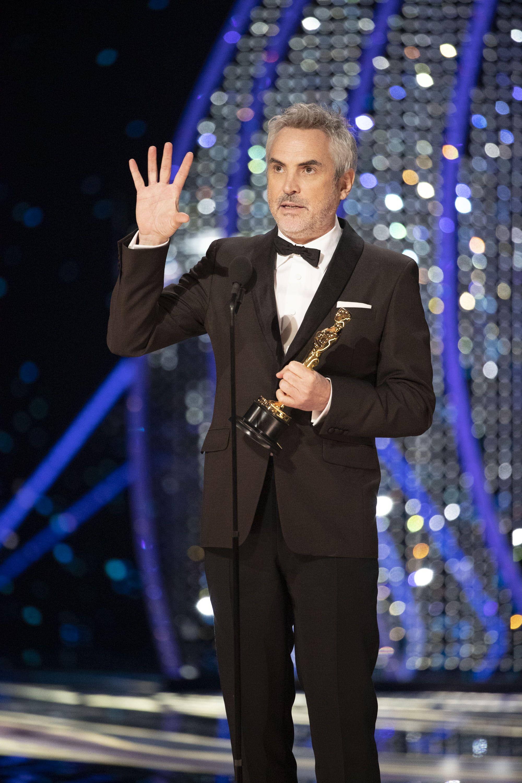 Oscar 2019: Alfonso Cuaron gana el Oscar a Mejor Director por 'Roma' - Oscars 2019
