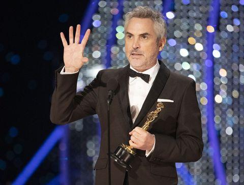 Alfonso Cuarón mejor director por 'Roma'