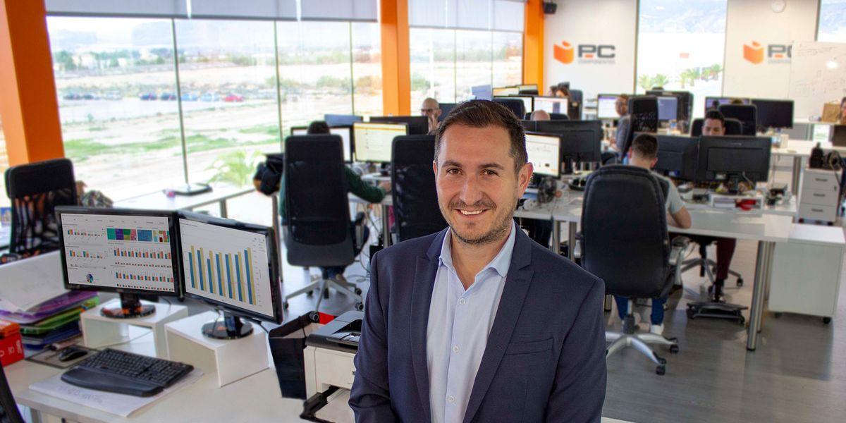 """Alfonso Tomás, CEO de PcComponentes: """"Nada de lo que hemos hecho estaba escrito en un plan de negocio"""""""