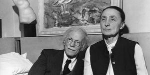 Alfred Stieglitz e Georgia O'Keeffe