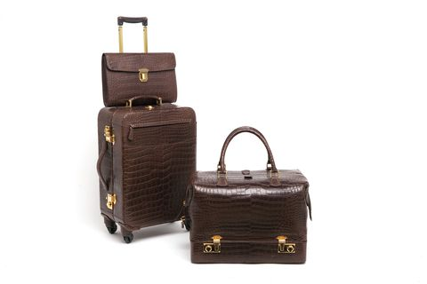 Bag, Brown, Handbag, Leather, Baggage, Fashion accessory, Hand luggage, Luggage and bags, Birkin bag, Suitcase,
