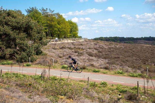 fietsen, posbank