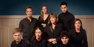 El reparto de 'Alguien tiene que morir' en Netflix