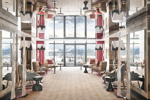 Club Med Alpe d'Huez大廳