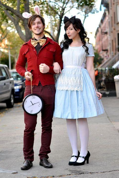 couples halloween costume alice in wonderland