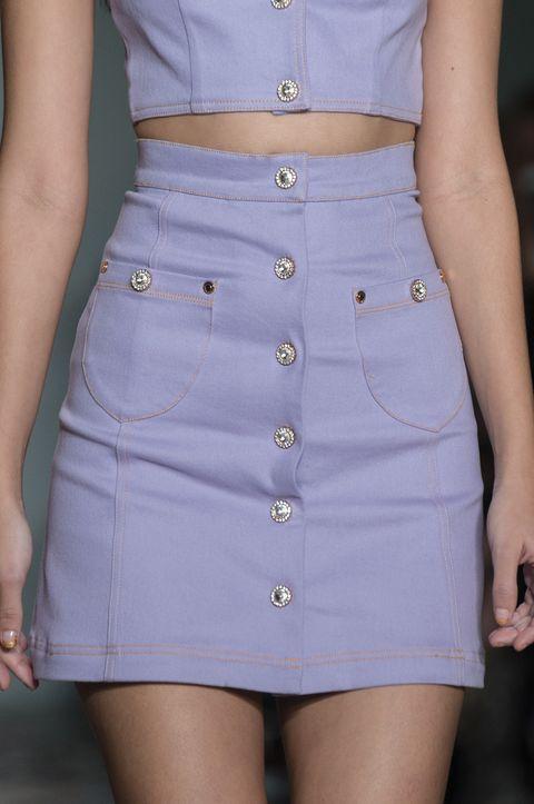 Clothing, Waist, White, Fashion, Blue, Abdomen, Trunk, Beige, Dress, Button,
