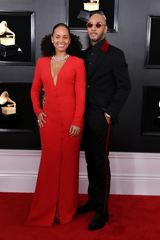 Alicia Keys Swiss Beatz 61st Annual GRAMMY Awards - Arrivals