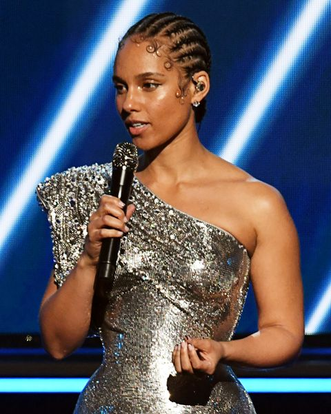 Alicia Keys beauty look Grammy Awards 2020