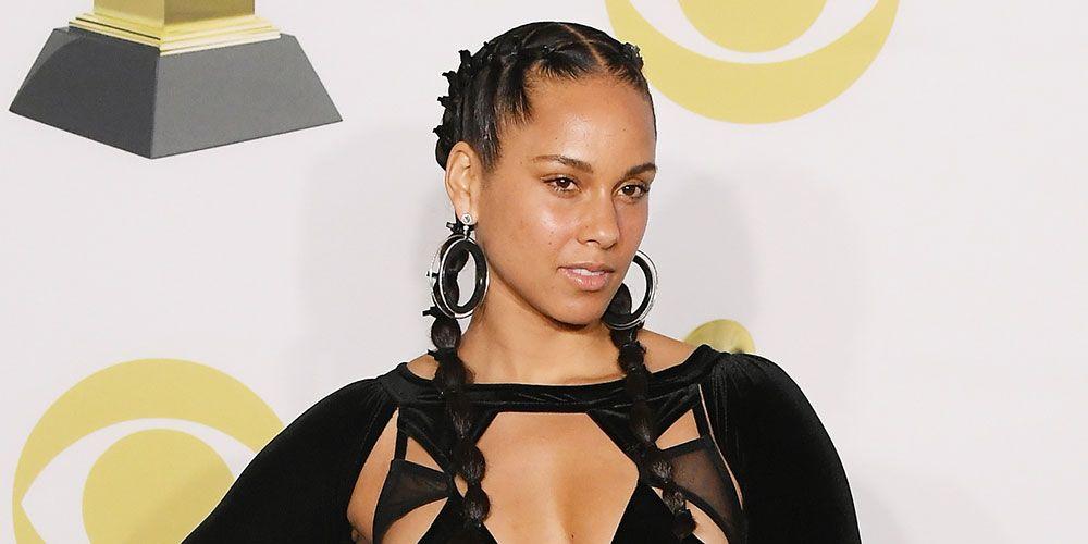 Alicia Keys makeup 2018 Grammy Awards