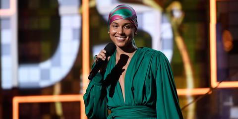 Alicia Keys Hosts Grammys