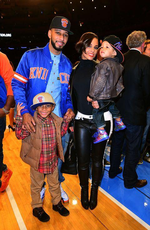 Alicia Keys And Swizz Beatz Sons