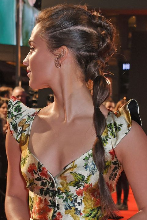 Alicia Vikander braid