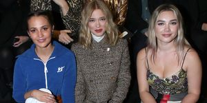 celebrities: Front Row - Fashion Week