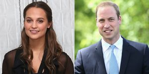 Alicia Vikander and Prince William