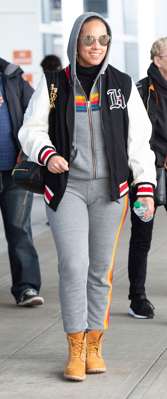 Alicia Keys, entre las peor vestidas de febrero de 2019