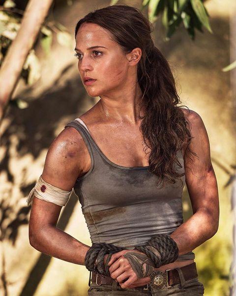 Tomb Rider Wallpaper: The Secrets Behind Alicia Vikander's Killer Abs