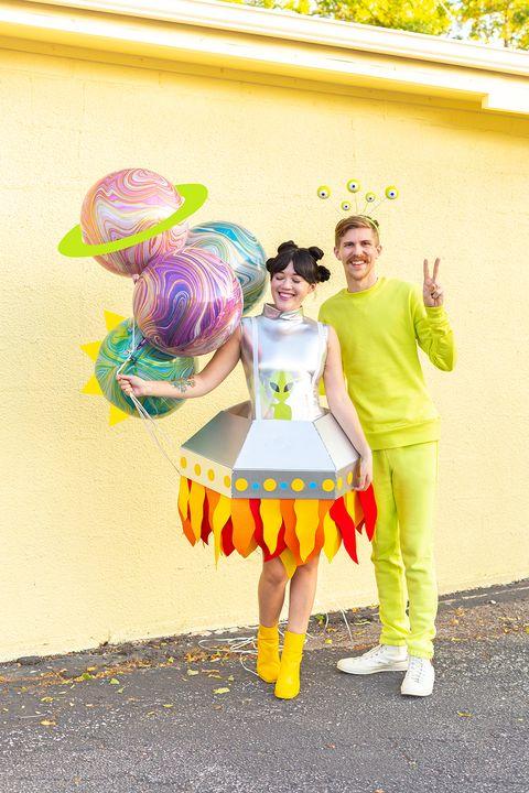 alien couples costume