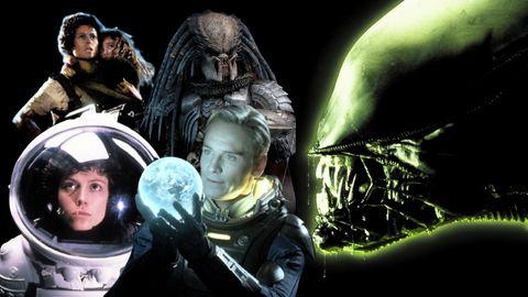 la línea temporal de la saga alien