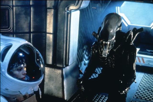 "on the set of ""alien"""