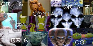 Serie CONTACT, de DMAX y una colección de extraterrestres de ficción