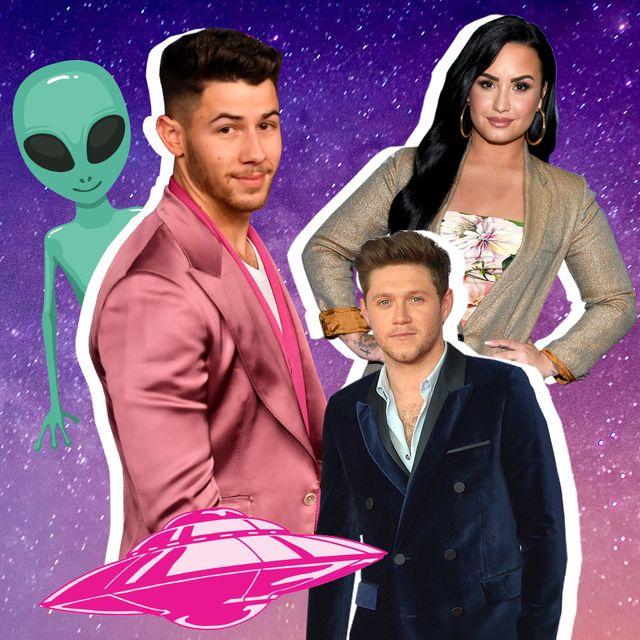 celebrities who believe in aliens