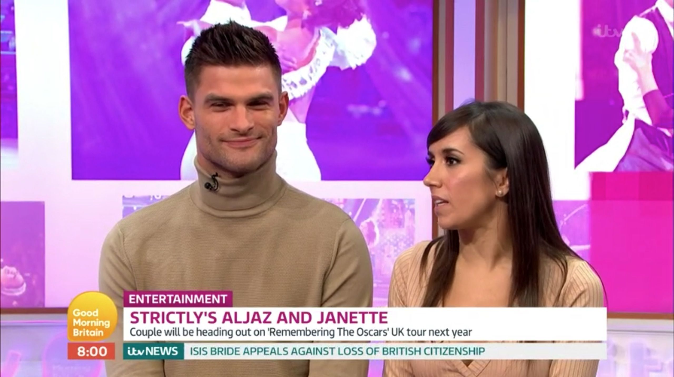 """Strictly Come Dancing pro Janette Manrara tells Good Morning Britain the 2019 series is """"anyone's game"""""""