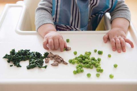 Seguridad infantil: Comer en tronas