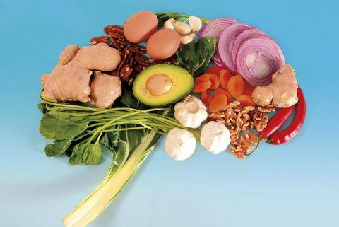 Alimentos para el dolor de cabeza o migraña
