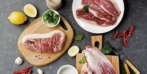 Tipos de carne roja