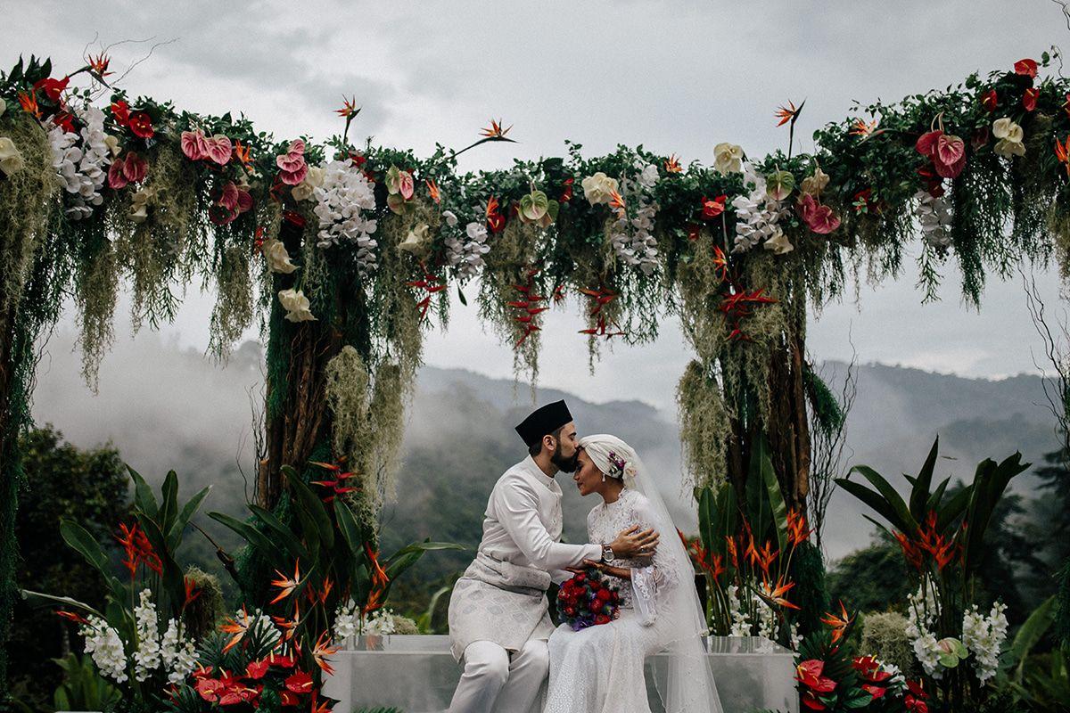 Yuna S Wedding In Malaysia Yuna Zarai Adam Sinclair Wedding