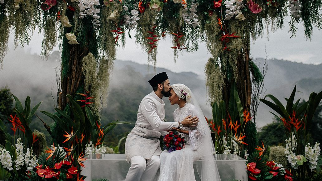 The Love Story Behind Singer-Songwriter Yuna & Filmmaker Adam Sinclair's Wedding in the Malaysian Jungle