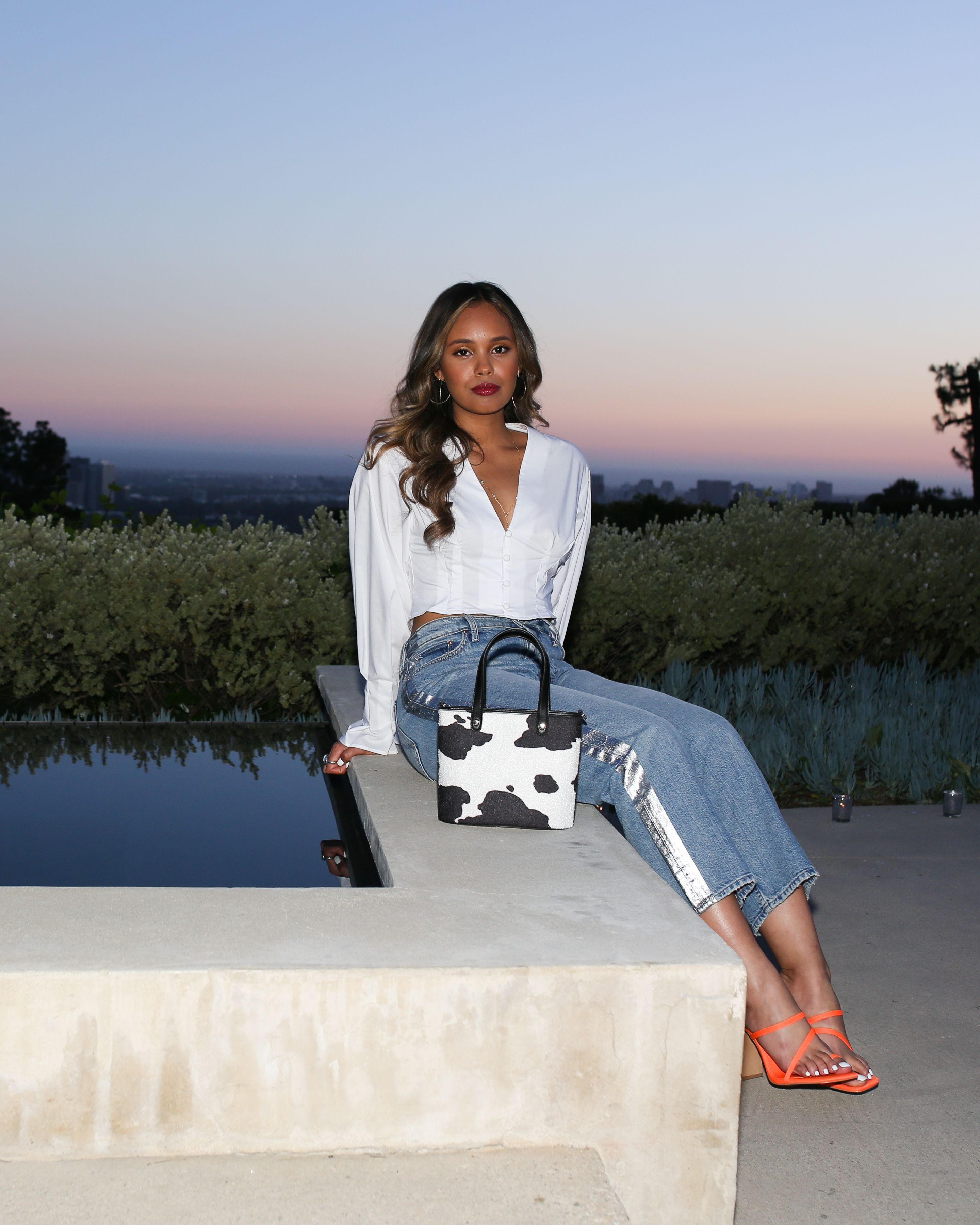 Alisha Boe Alisha Boe celebrates the latest Asos Design Collection at a dinner party hosted by Kiersey Clemons and stylists Wayman Bannerman and Micah McDonald in Beverly Hills, California on March 28.