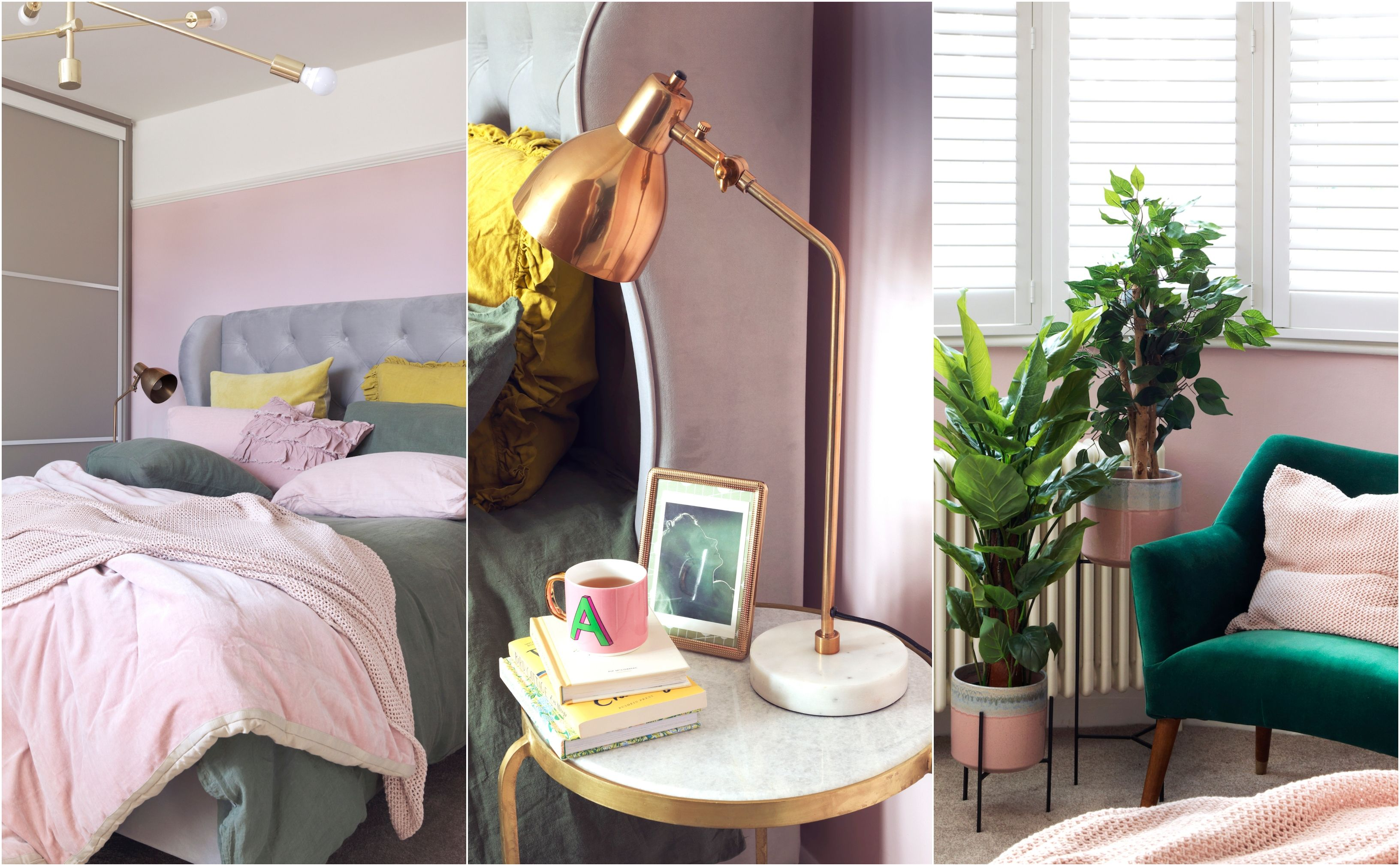 House Beautiful's interiors editor overhauls entire bedroom for £5,000