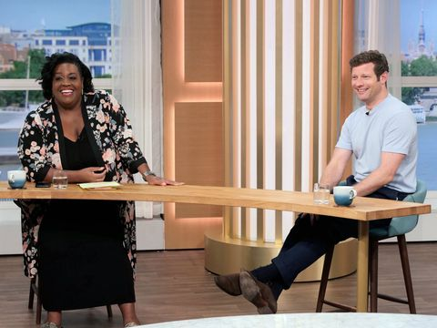 editorial use onlymandatory credit photo by ken mckayitvshutterstock 10751020malison hammond, dermot o'leary'this morning' tv show, london, uk   21 aug 2020this morning gmb