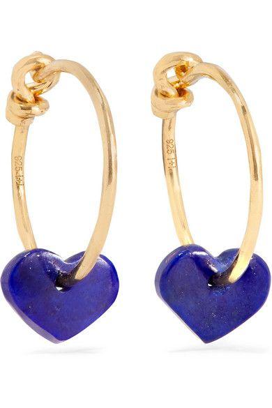 Cobalt blue, Earrings, Jewellery, Fashion accessory, Body jewelry, Heart, Metal,