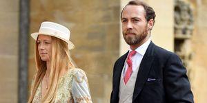 James Middleton engaged fiance Alizee Thevenet