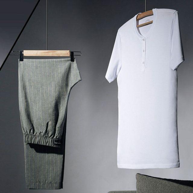 Clothing, Clothes hanger, Blue, Denim, Design, Textile, Outerwear, Jeans, Fashion design, Pattern,
