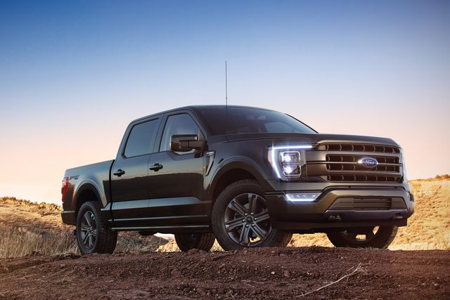 all new f 150 lariat in space white