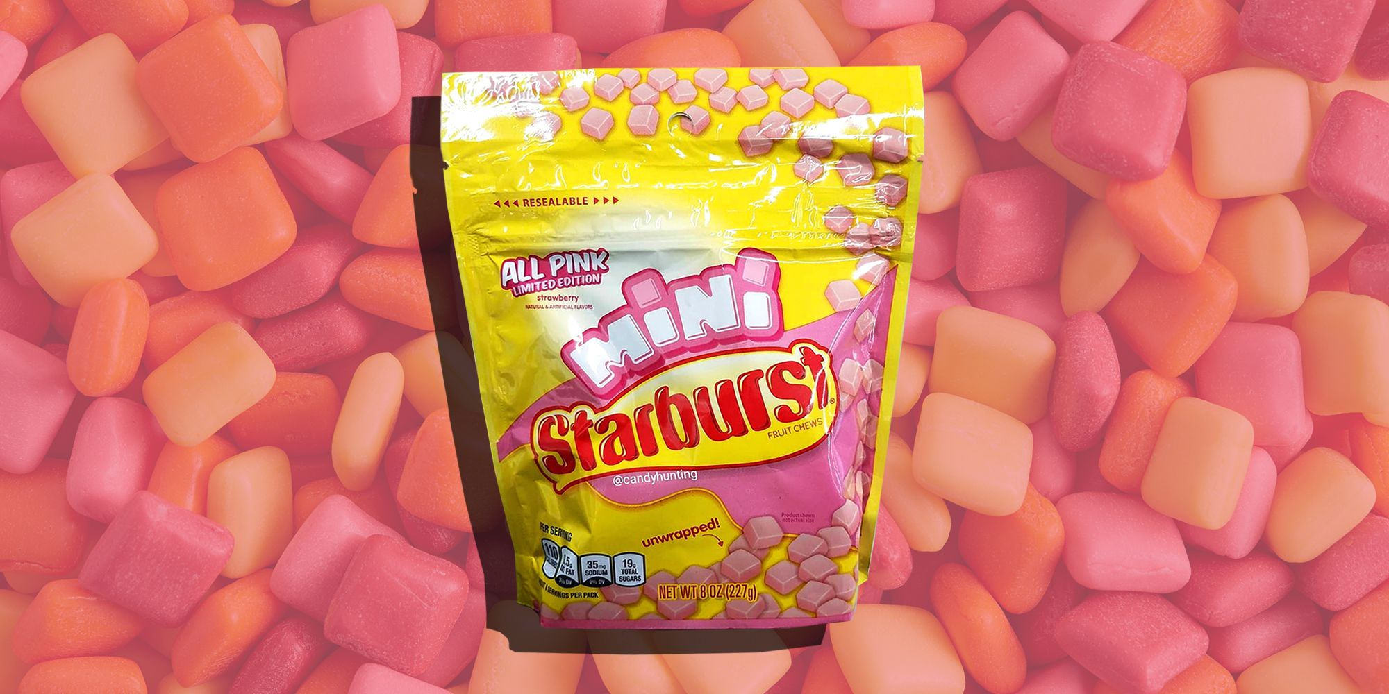 Starburst Minis Now Come in an All-Pink Pack, Because That's the Only Flavor That Matters