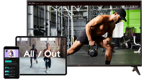 All-out studio on demand workout app Men's Health Women's Health Runners World